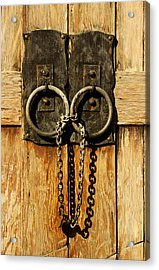 Locked Out Acrylic Print