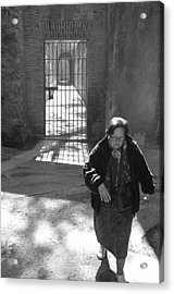 Locked The Gate Now Time To Get On With My Life Acrylic Print by Jez C Self