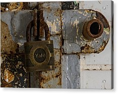 Locked Tight Acrylic Print by Denise McKay