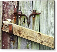 Locked Up Tight Acrylic Print