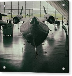Lockheed Blackbird Acrylic Print