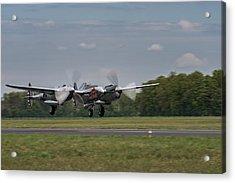 Lockheed P-38 Lightning Acrylic Print