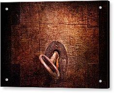 Locksmith - Locked  Acrylic Print by Mike Savad