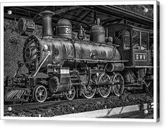 Locomotiva-conservatoria-rj Acrylic Print