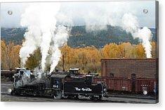 Locomotive At Chama Acrylic Print