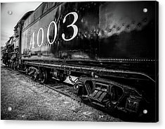 Locomotive Engine Acrylic Print