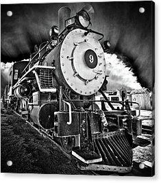 Locomotive Nine Acrylic Print by Marius Sipa