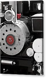 Locomotive Number Five Acrylic Print