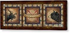 Lodge Panel Acrylic Print