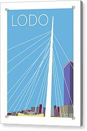 Lodo/blue Acrylic Print