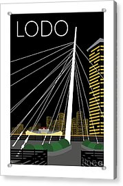 Lodo By Night Acrylic Print