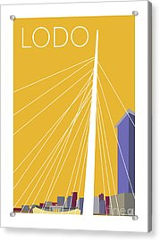 Lodo/gold Acrylic Print