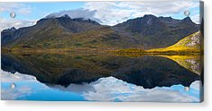 Acrylic Print featuring the photograph Lofoten Lake by James Billings