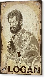 Logan Acrylic Print by Joseph Burke
