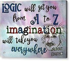 Logic Acrylic Print