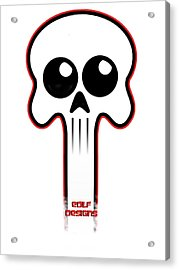 Logo  Acrylic Print by Eric De La Fuente
