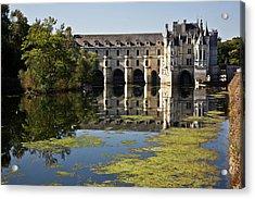 Loire Chateaux Chenonceau Acrylic Print