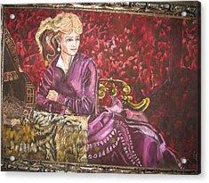 Lola Montez Acrylic Print by Lila Witt Locati