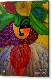 Lola Acrylic Print by Stephanie Zelaya