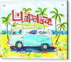 Lollapalooza Acrylic Print