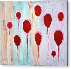 Acrylic Print featuring the painting Lollipop Garden by Frank Tschakert