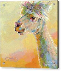 Lolly Llama Acrylic Print
