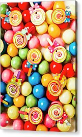 Lolly Shop Pops Acrylic Print