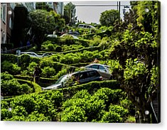 Lombard Street Acrylic Print