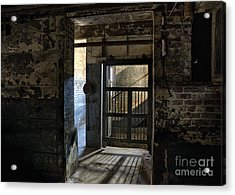 Acrylic Print featuring the mixed media Lonaconing Light by Terry Rowe