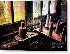 Lonaconing Silk Mill Iv Acrylic Print by Arne Hansen