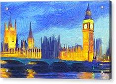 London 1 Acrylic Print