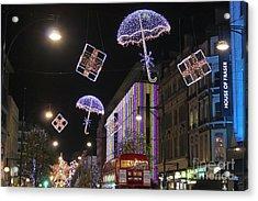 London At Christmas Acrylic Print