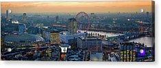 London At Sunset Acrylic Print