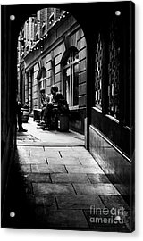 London Backstreet Alley Acrylic Print