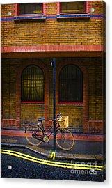 London Bicycle Acrylic Print