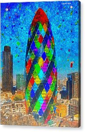 London Bullet - Pa Acrylic Print by Leonardo Digenio