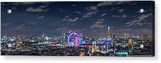 Acrylic Print featuring the photograph London By Night by Stewart Marsden