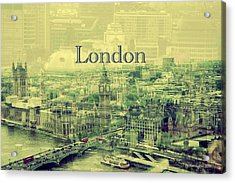 London Calling You Back Acrylic Print