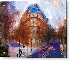 London Central Acrylic Print