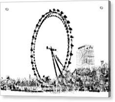 London Eye Acrylic Print