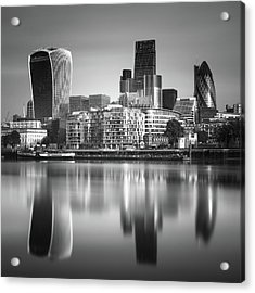 London Financial District Acrylic Print