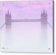 London Fog Acrylic Print