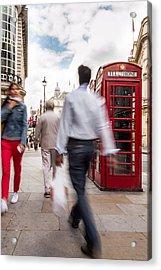 London In Motion Acrylic Print