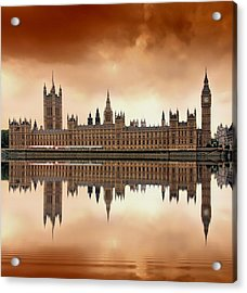 London Acrylic Print by Jaroslaw Grudzinski
