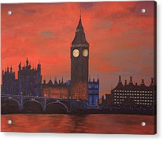 London Acrylic Print by Jennifer Lynch