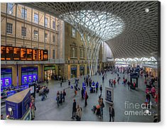 Acrylic Print featuring the photograph London King's Cross by Yhun Suarez