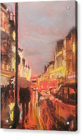London Lights Acrylic Print by Paul Mitchell