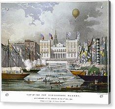 London: Market, 1833 Acrylic Print by Granger