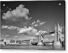 London Monochrome Acrylic Print