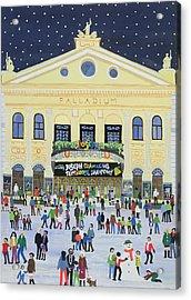 London Palladium   Joesph Acrylic Print by Judy Joel